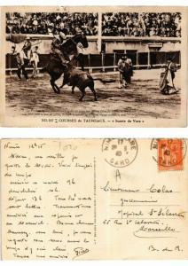 CPA Bullfighting - Courses de Taureaux - Suerte de Vara (775978)