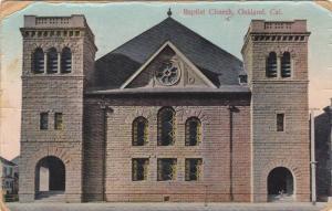 Exterior,  Baptist Church,  Oakland,  California,  PU_1913