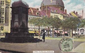Place Du Marche, Liege, Belgium, PU-1909