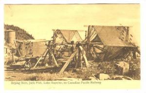 Drying Nets, Jack Fish, Lake Superior , Canada , 00-10s
