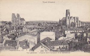 France Toul Vue generale L'Eglise Saint Gengoult et la Cathedrale