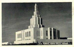 L.D.S. Temple - Idaho Falls , Idaho ID