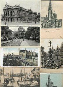 Belgium - Antwerp Anvers Antwerpen Postcard Lot of 48 01.06