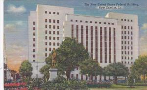 Louisiana New Orleans United States Federal Building Curteich