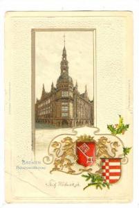 Bremen, Germany, PU-1902; Baumnollborse