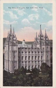 The Mormon Temple Salt Lake City Utah