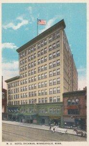 MINNEAPOLIS, Minnesota, 1910s; Hotel Dyckman