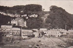 England Clovelly The Harbour 1927
