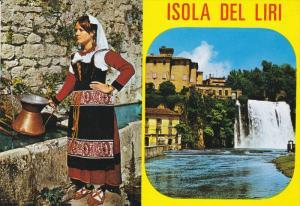 ISOLA DEL LIRI, Lazio, Italy, 1950-1970's; Multiple Views Of Isola Del Liri