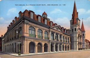 The Cabildo, Old Spanish Court Bldg., New Orleans, LA, Early Postcard, Unused