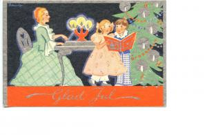 FINLAND   PC439    MERRY CHRISTMAS