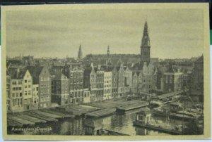 Netherlands Amsterdam Damrak - unposted