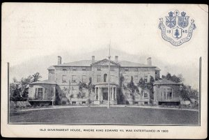 New Brunswick FREDERICTON Old Government House Patriotic Post Card - Und/B
