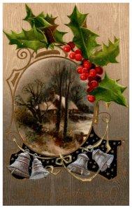 Christmas  , Bells, Mistiltoe