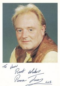 Bruce Jones Les Battersby Coronation Street Hand Signed Photo