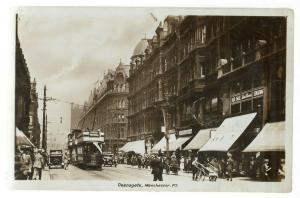 UK Deansgate Manchester RPPC 01.17