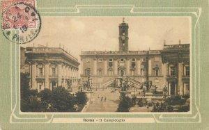 Postcard Italy Roma Il campidoglio