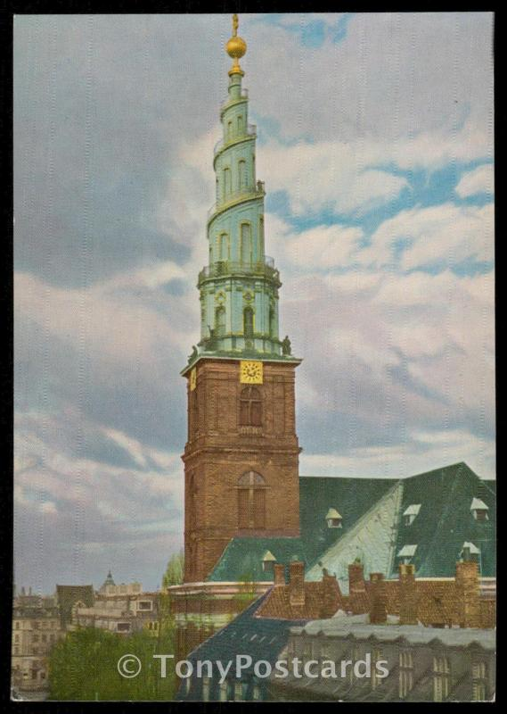 Tower of Our Saviour's Church - Copenhagen, Denmark