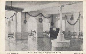 BRANDON , Vermont , 1900-10s ; Brandon Inn , Music & Ball Room