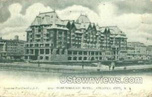 Marlborough Hotel Atlantic City NJ 1906