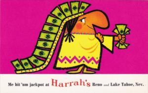 Nevada Reno & Lake Tahoe Me Hit 'Um Jackpot At Harold's Club