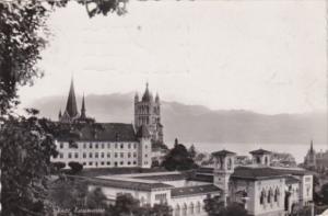 Switzerland Lausanne Panorama 1947 Photo
