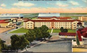 Colorado Denver Lowry Field Hangars and Barracks Curteich