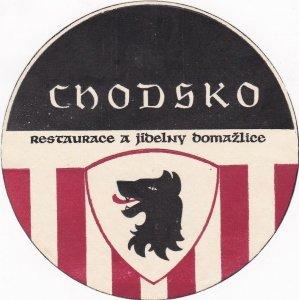 Czechoslovakia Chodsko Restaurant Jibelny Domazlice Vintage Luggage Label sk4371
