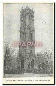 Old postcard Collection petit Journal Paris Tour Saint Jacques