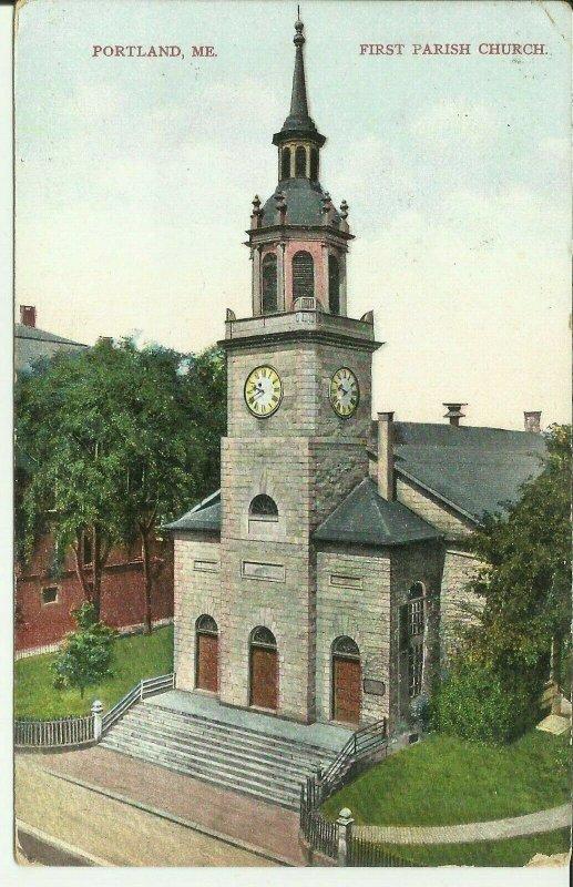 Portland, Me., First Parish Church