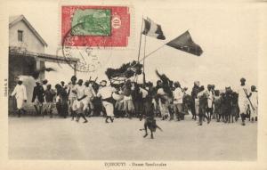 CPA Djibouti Afrique - Danse Soudanaise (86915)