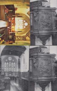 The Chapel East Front West Gatehouse Torre Abbey Torquay Devon 4x Rare Postcard