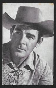 ARCADE CARD Cowboy Entertainer Rod Cameron