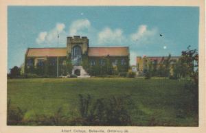 BELLEVILLE, Ontario , 1930-40s ; Albert College
