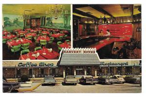 Harvest House Restaurant King of Prussia PA Vtg Postcard