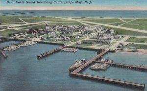 CAPE MAY, New Jersey, 1930-40s; U.S. Coast Guard Receiving Center