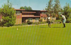 Golf Putting Green and Club House The Concord Hotel Kiamesha Lake New York