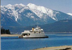 KOOTENAY LAKE, British Columbia, Canada, 1950-70s; M. V. Anscomb Ferry