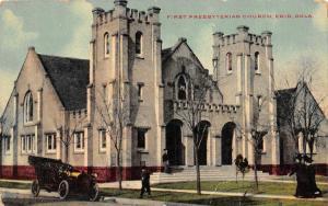 ENID, OK Oklahoma  FIRST PRESBYTERIAN CHURCH  Garfield County   c1910's Postcard