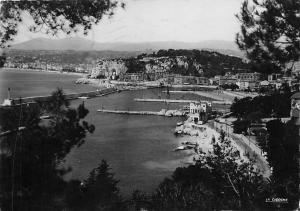 France Nice Effet de Lumiere sur l'Entree du Port Panorama