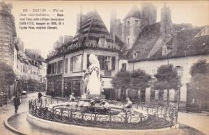 Waterfountain, Place Des Cordeliers, DIJON (Côte-d'Or), Germany, 1900-1910s