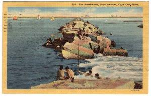 Provincetown, Cape Cod, Mass, The Breakwater