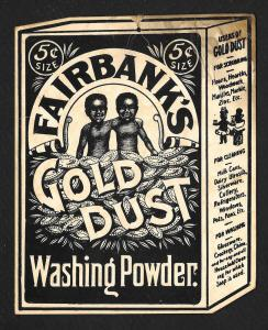 VICTORIAN TRADE CARD Fairbank's Gold Dust Washing Powder