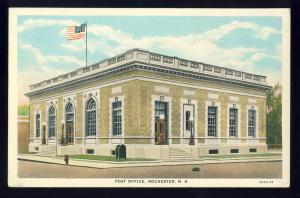 Rochester, New Hampshire/NH Postcard, Post Office