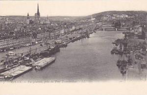 Vue Generale, Prise Du Pont Transbordeur, Rouen (Seine Maritime), France, 190...