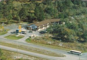 Florida Kissimmee The Chateua Motel West Vine Street Aerial View