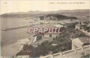 Postcard Old Nice shooting Mont Boron