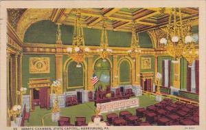 Pennsylvania Harrisburg Senate Chamber State Capitol 1941