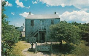 Old Jail, Nantucket, Massachusetts, unused Postcard