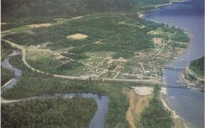 Aerial View, SICAMOUS, British Columbia, Canada, 40-60´
